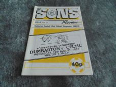 Dumbarton v Celtic, 1987/88 [SC]